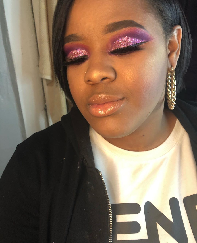Disco Glitter Cut Crease Looks