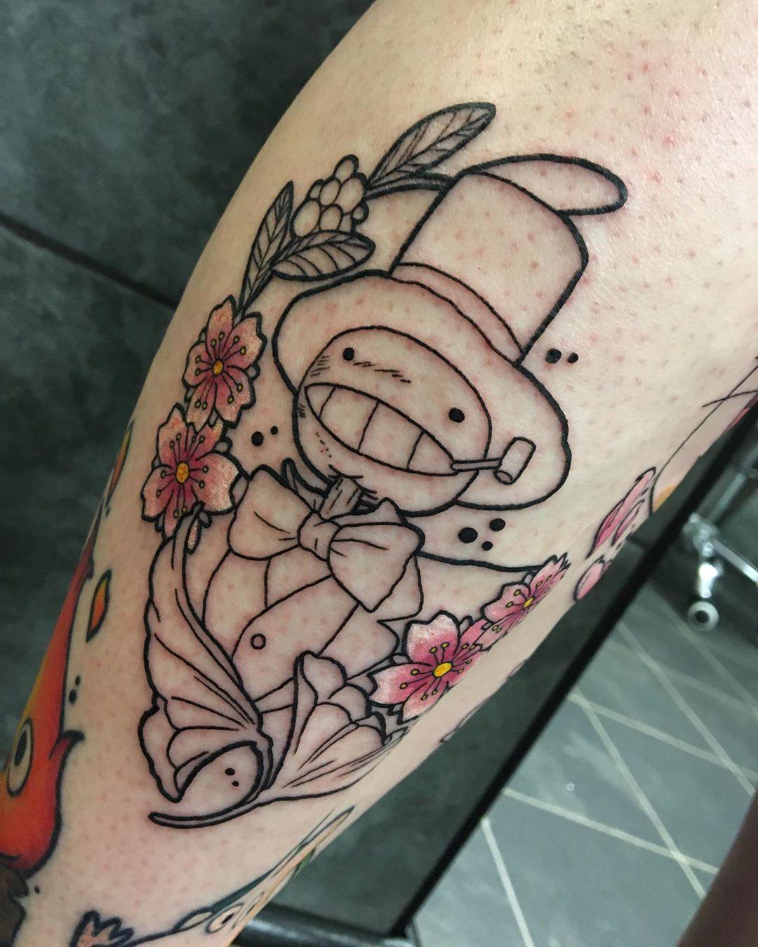 Japanese Sakura tattoo