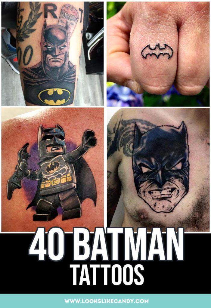 batman tattoos