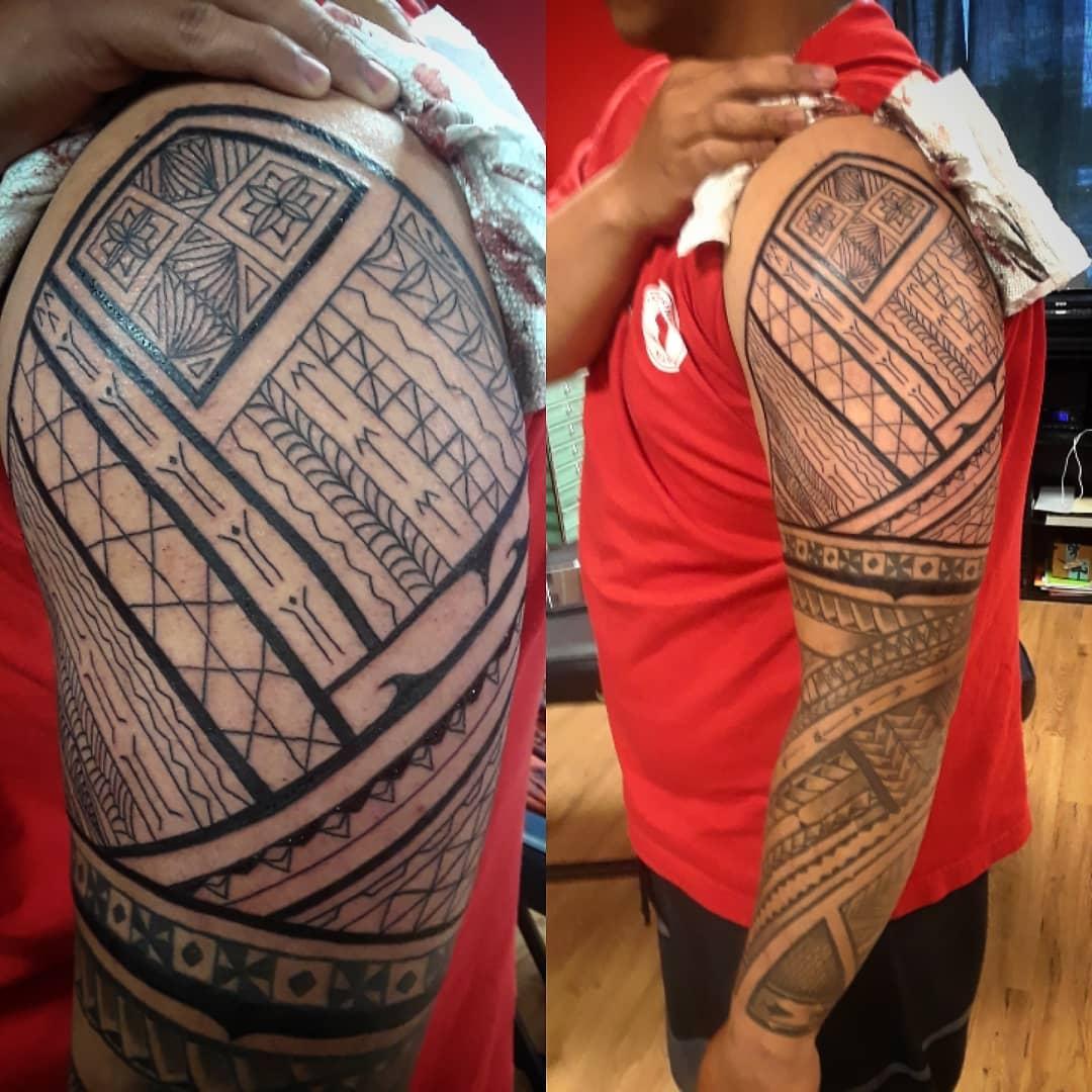 Tattoo that tells a story