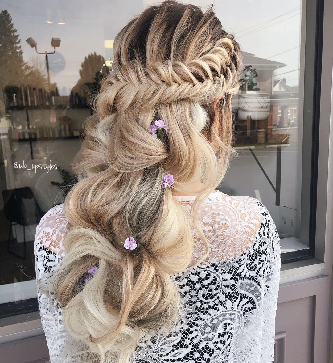 Fishtail Wrap in Boho Braid style