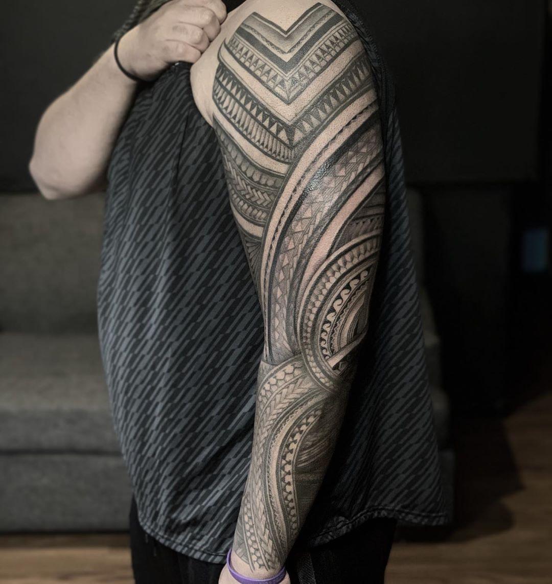 Sleeve Kakau tattoos