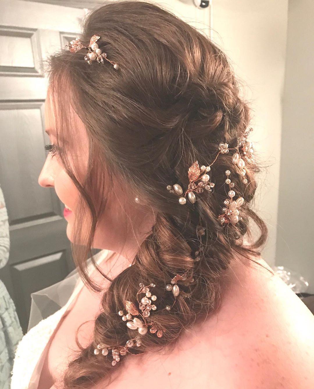 Boho wedding braid example