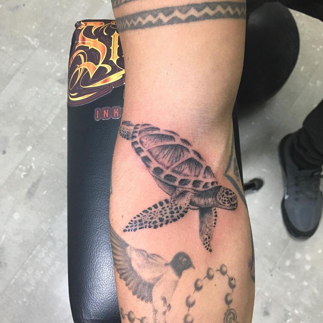 arm Sea Turtle Tattoo
