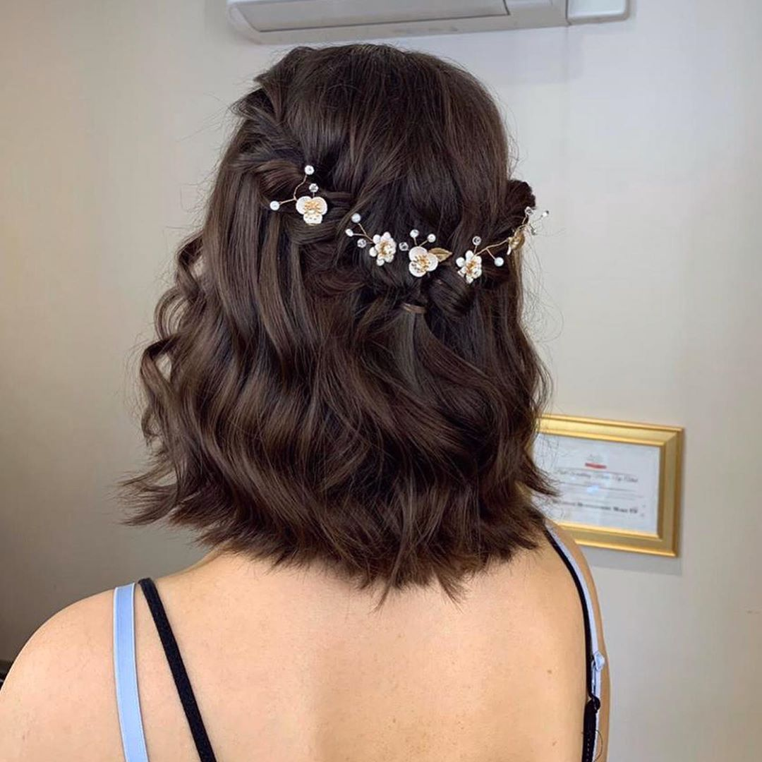 Simple twist braid for short hair