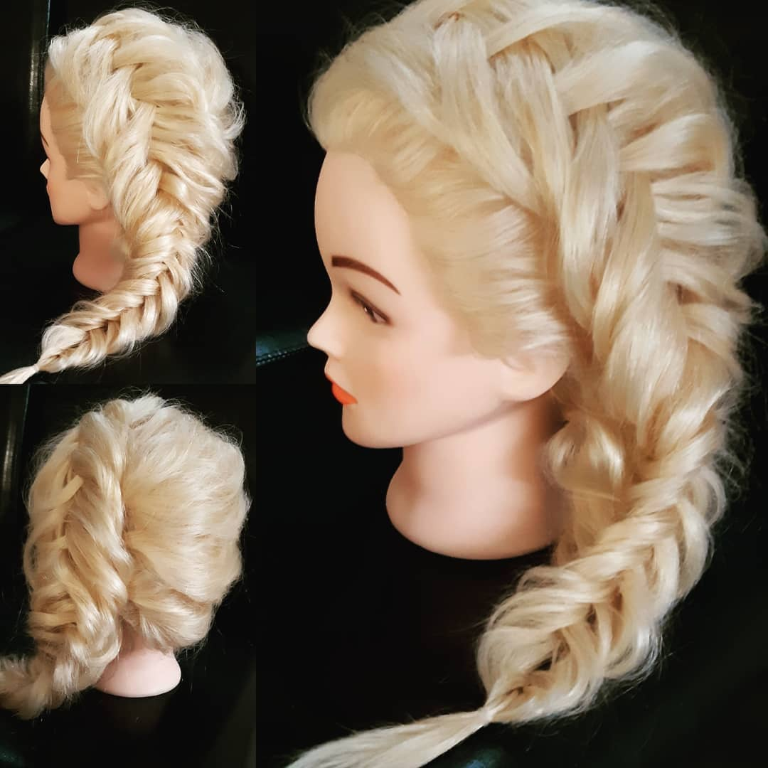 Boho Braid that is inspired by Elsa from Frozen