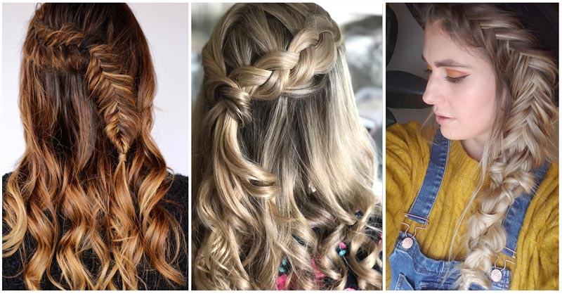 Dutch Fishtail Braid Hairstyles