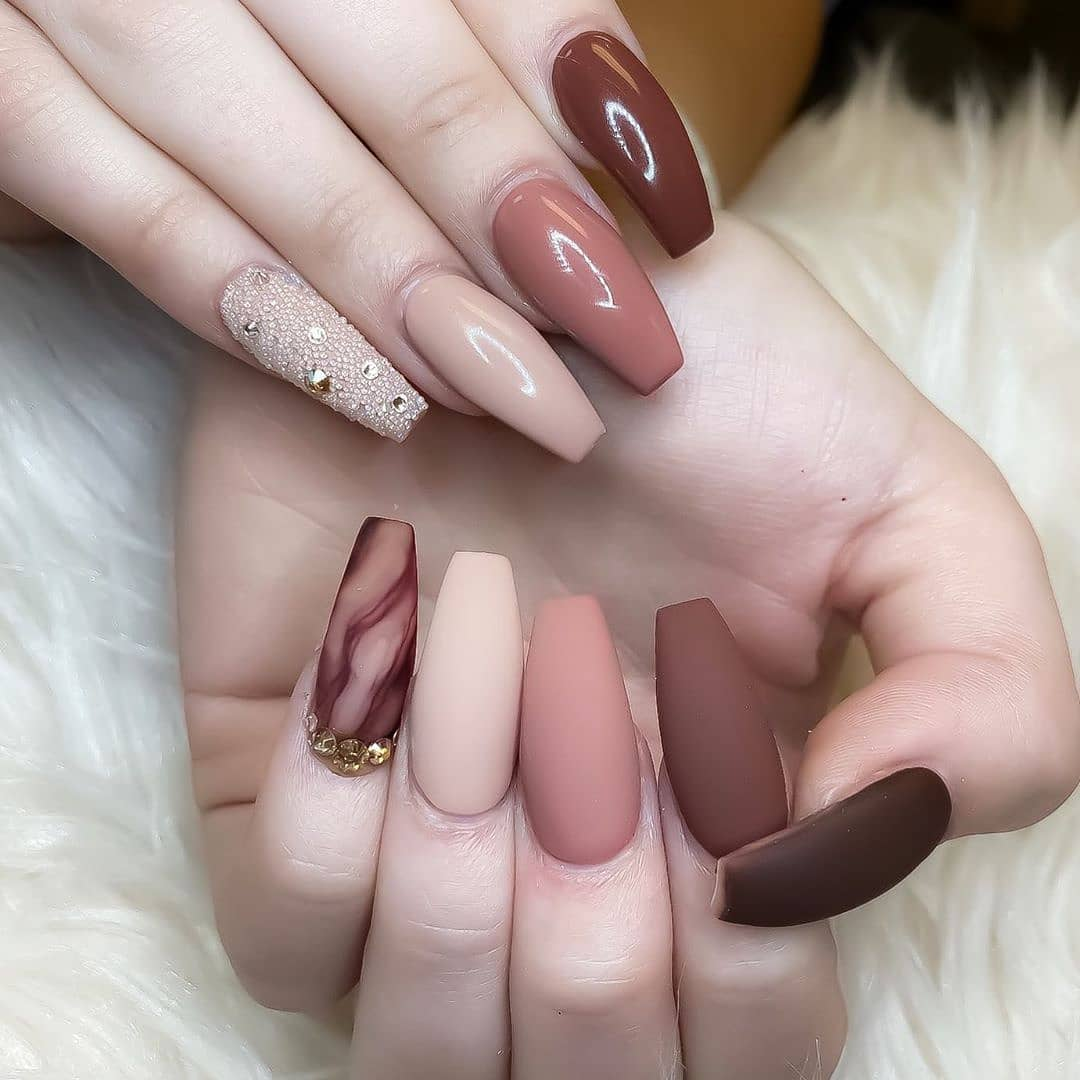 Image of Christmas nail designs