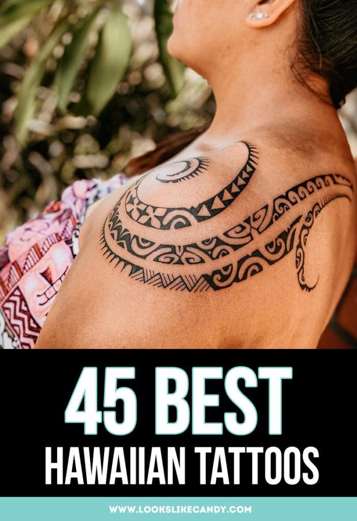 45 Best Hawaiian Tattoos image