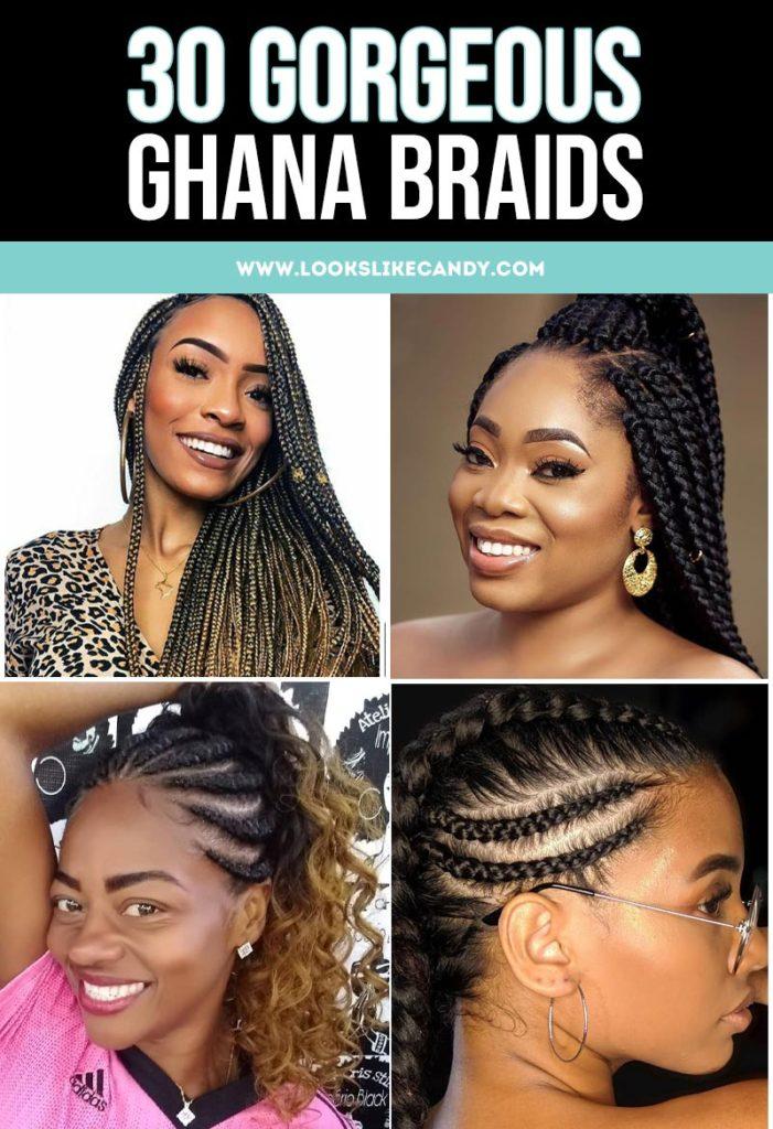 Ghana Braids Pinterest Image