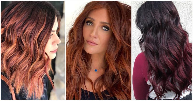 Red Balayage Hair Ideas & Inspiration
