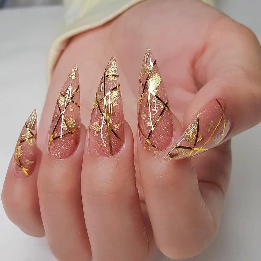 Image of Pointy Nails for Ideas & Inspiration